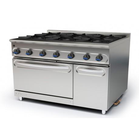 Cocina modular a gas M-1600/6H