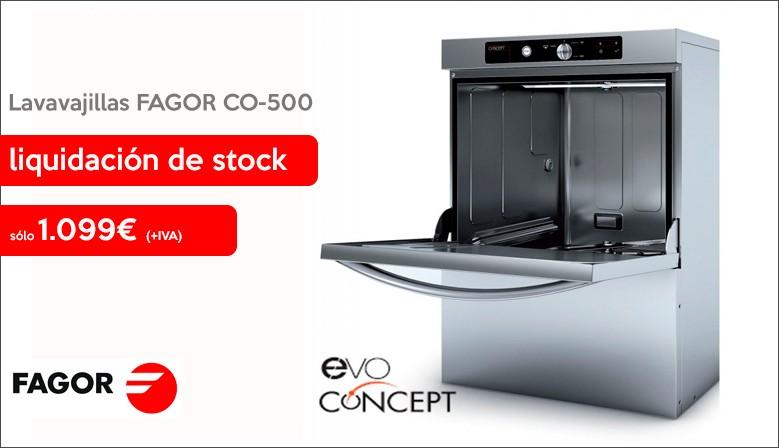 Oferta Lavavajillas FAGOR CO-500