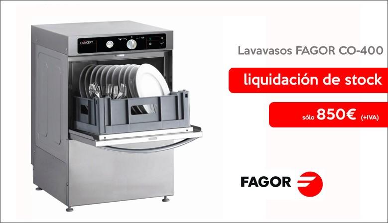Oferta Lavavasos FAGOR CO-400 Hosteleria