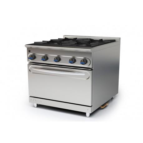 Cocina modular a gas M-900/4HH