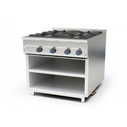 Cocina modular a gas M-900/4EE sin horno