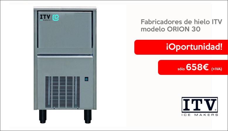Oferta Fabricadores de hielo ITV modelo ORION 30